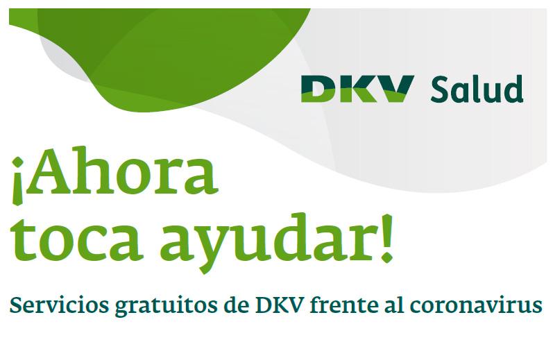 Servicios gratuitos de DKV frente al coronavirus